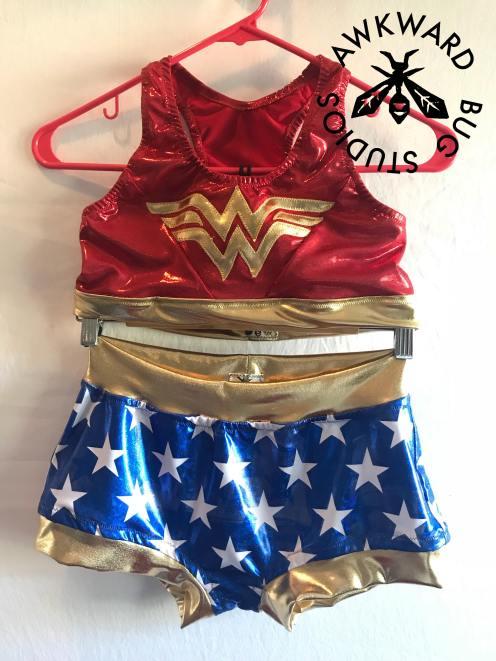Avispa's Wonder Woman Gear
