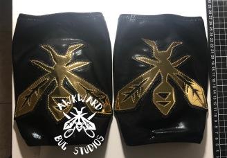 Avispa Dorada- Kneepad Covers