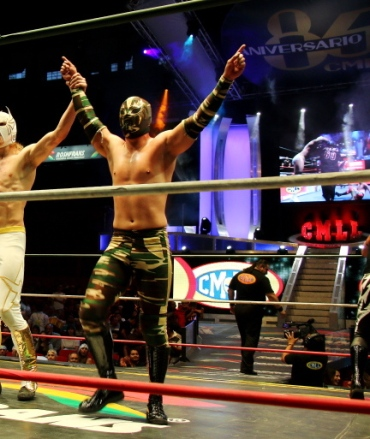Oro Jr- Full gear (@ CMLL)